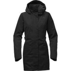 TNF Laney Trench ll Black Womens