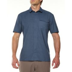 VIGI Lares SS Shirt Navy Mens