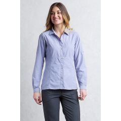 Exofficio Lightscape l/s Lilac Grey Womens