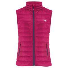 Mac Alpine Down Vest Fuchsia Womens