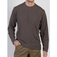 Exof Meridius Fleece Crew CIGAR L