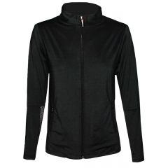 Birdee Sport Mesh Travel Jacket Womens Black