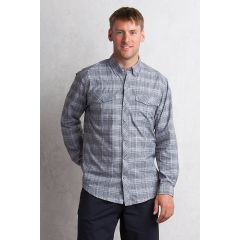 EXOF Minimo Plaid L/S Shirt Road Mens