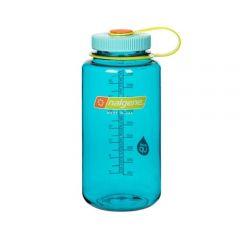 NALG Wide Mouth Bottle 1L Cerulean