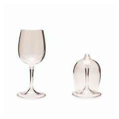 GSI Lexan Nesting Wine Glass set of 2