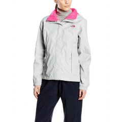 TNF Resolve Jacket HR Grey Pink Womens