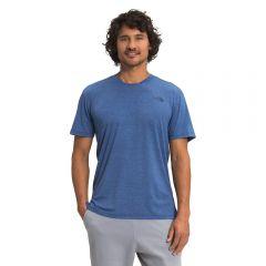 TNF Wander SS Tee Bolt Blue Mens