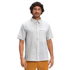 TNF First Trail UPF Shirt SS Tin Grey Mens