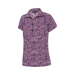 Birdee Orlando Short Sleeve Top Lilac Womens