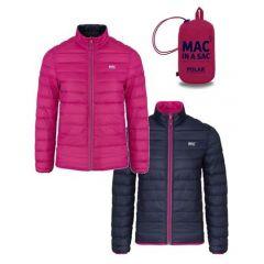 Mac Polar Down Jacket Fuschia/Navy Womens