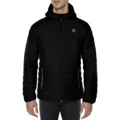 VIGI Power Down Jacket Black Ink Mens