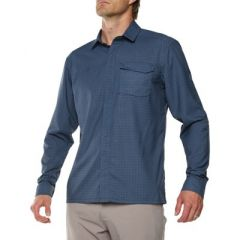 Vigi Quito LS Shirt Navy Mens