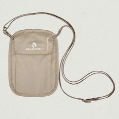 EAGL RFID Neck Wallet Tan