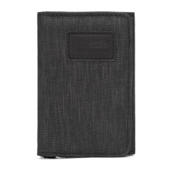 Pacsafe RFIDsafe Trifold Wallet Carbon
