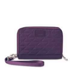 Pacsafe RFID safe W150 Wallet Mulberry