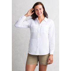EXOF Rotova Shirt L/S White Womens