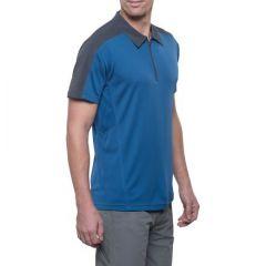 Kuhl Shadow Polo Shirt Blue Depth Mens