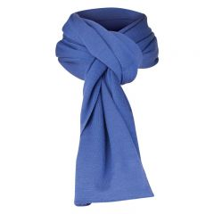 Sherpa Merino Scarf Double Royal Blue
