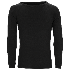 Sherpa Merino 240gsm Top Black