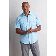 EXOF Sondar S/S Shirt Sky Mens
