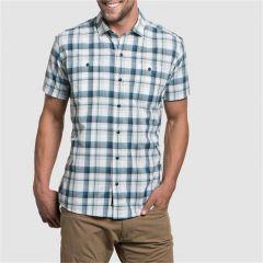 Kuhl Styk Shirt s/s Blue Heron Mens