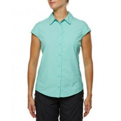 Vigi Telegrade SS Shirt Aqua Splash Womens
