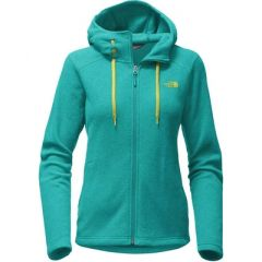 TNF Mezzaluna Hoody Womens Pool Green