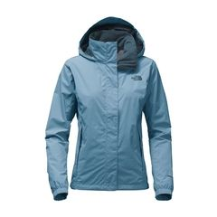 TNF Resolve Jacket Prov Blue Womens