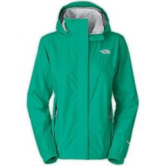 TNF Resolve Jacket Womens Kokomo Green