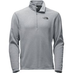 TNF TKA 100 Glacier 1/4 Zip Mid Grey Hth MM