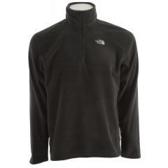TNF GLACIER QZip Fleece Asphalt Grey Mens