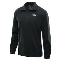 TNF TKA 100 Glacier Qzip Black Mens