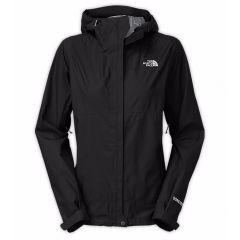 TNF Dryzzle Rain Jacket Black Womens