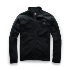 TNF Glacier Alpine FZip Jacket Black Mens