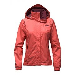 TNF Resolve Jacket Spiced Coral Womens