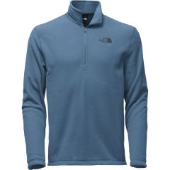 TNF TKA 100 Glacier 1/4 Zip Pullover Shady Blue Mens