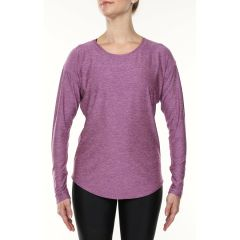 Vigi Trail Jersey LS Black Plum Womens