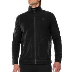 VIGI Trekker Fleece Jacket Black Mens