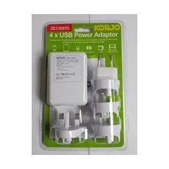 KORJ 4 USB Adaptor International