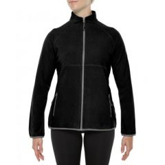 Vigi Variable Fleece Jacket Black Womens