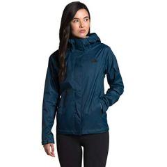 TNF Venture II Jacket Blue Wing Teal Womens