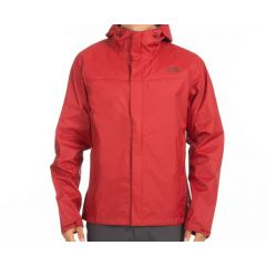 TNF Venture 2 Jacket Cardinal Red Mens