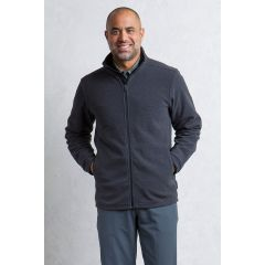 EXOF Vergio Full Zip Jacket Black Mens