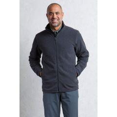 EXOF Vergio Full Zip Jacket Black Mens
