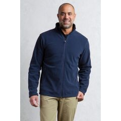 EXOF Vergio Full Zip Jacket Navy Mens