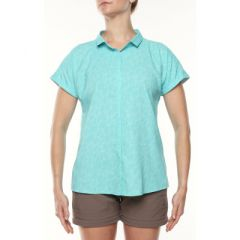 Vigi Shadowfly SS Shirt Ice Green Womens
