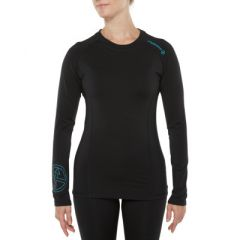 Vigi Tamarillo Jersey LS Black Grey Womens