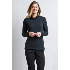 EXOF Wanderlux Turtle Neck Black Womens