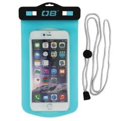 Overboard Phone Case Large Aqua