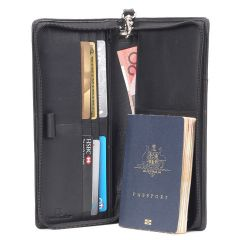 ZOOM RFID Toby Vintage Leather Wallet